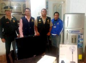 Dan prisión preventiva a banda de delincuentes que se dedicaba al robo de casas en Camaná