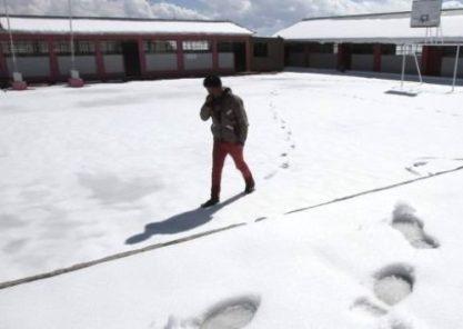 Autoridades de zonas altas no reportan daños por bajas temperaturas