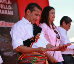 Humala insistirá en licitación de represa Paltuture antes de culminar su mandato