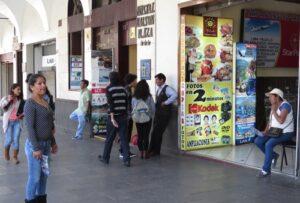 """Subgerente de Turismo: """"La cantidad de jaladores se ha reducido a la mitad en la Plaza de Armas"""" ."""