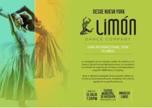 Afamado grupo de danza moderna norteamericano se presenta en el Cultural