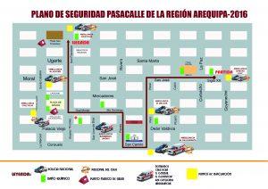 Garantizan seguridad para Pasacalle Regional del domingo 7 de agosto