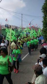 ¡Que se vayan todos!: el Valle de Tambo y otros colectivos se suman a la marcha del 19 de julio