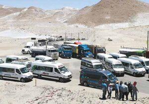 Este lunes, transportistas de minivan realizan nuevo paro de protesta