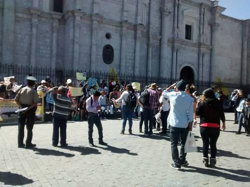 protesta Rivera