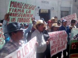 VIDEO. Dirigente agrario Majes: Ministerio Agricultura se burla de nosotros
