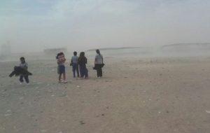 Fuertes vientos se registraron en Islay y Camaná, donde debieron suspender labores escolares