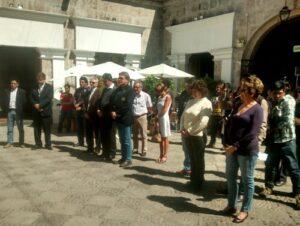 Alianza Francesa de Arequipa brinda homenaje con minuto de silencio a víctimas de atentados