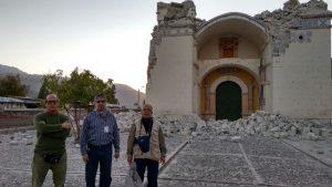 FOTOS. Templos coloniales del Colca dañados por sismo evalúan expertos