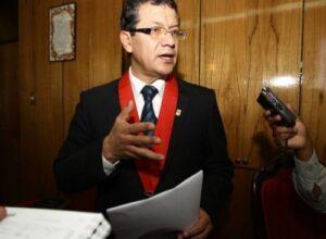 """VIDEO. Presidente de la Corte: """"No tenemos corrupción, como existe en otros lugares"""""""