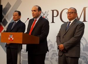 VIDEO. Ministros amplían declaratoria emergencia a 5 distritos de Caylloma