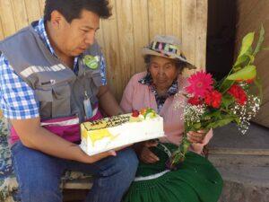 Anciana de 120 años que vive en Tiabaya es la más longeva del Perú en Pensión 65