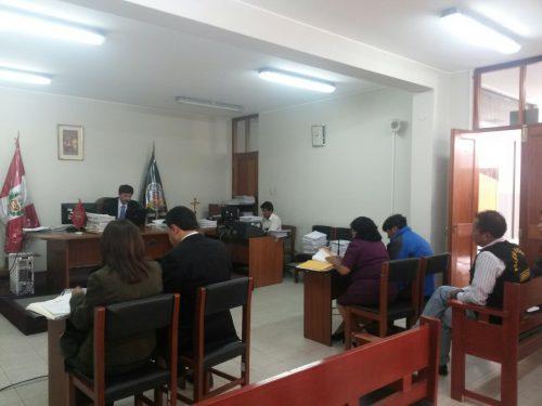 audiencia judicial