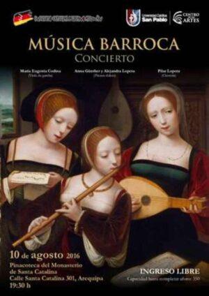 Este miércoles, concierto de Música Barroca