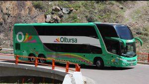 Bus de Oltursa que venía de Lima a Arequipa fue asaltado esta madrugada