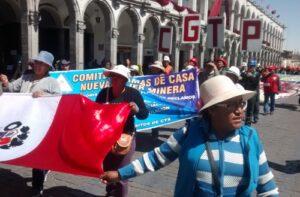 """Trabajadores de minera en Condesuyos: """"La gente del socavón tiene salarios paupérrimos"""""""