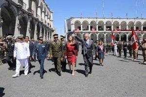 FOTOS. Presidente Pedro Pablo Kuczynski en Arequipa trajo ayuda y asiste a Sesión Solemne