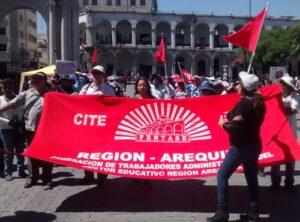 VIDEO. Trabajadores administrativos del sector Educación amenazan con huelga por bajos sueldos