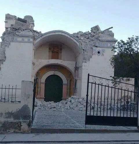 Templo de Ichupampa, perdió sus dos torres