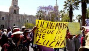 Afectados en Uchumayo por minera Cerro Verde denuncian ser burlados por empresa