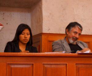Indira Huilca anuncia propuestas legislativas para disminuir violencia de género