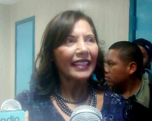 Presidenta Ejecutiva de EsSalud, Virginia Baffigo de Pinillos.