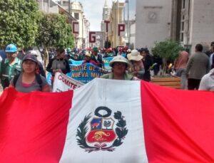 Tras 8 días de protestas, los mineros de San Juan de Chorunga no encuentran solución