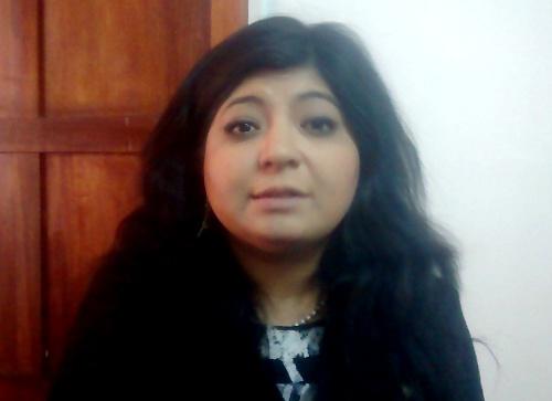Noelia Huatuco Cabrera, del Foro Regional por los Derechos Sexuales y Reproductivos.