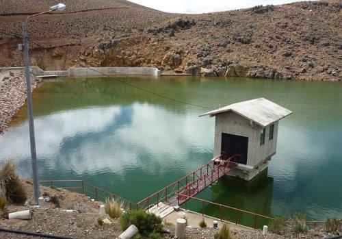 Represa Pasto Grande, Moquegua.