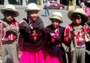 VIDEO. Niños que ganaron tercer puesto Pasacalle Regional cantaron en Plaza de Armas