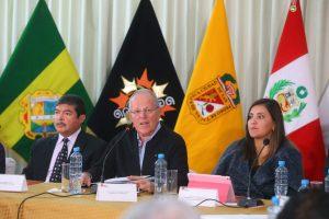 Kuczynski en Tacna ofrece a gobernadores del Sur todo el apoyo del gobierno