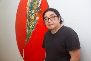 Eduardo Tokeshi inaugura muestra y conversa con el público en el Cultural