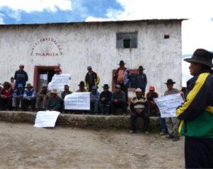 Puno demanda al Ministerio de Agricultura para detener ejecución de represa Paltuture