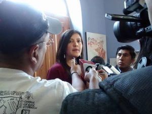 Gobernadora regional rechaza «hackeo» de página web del GRA e insultos en redes
