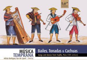 """Presentación de libro y concierto """"Tonadas, bailes y cachuas del siglo XVIII"""""""