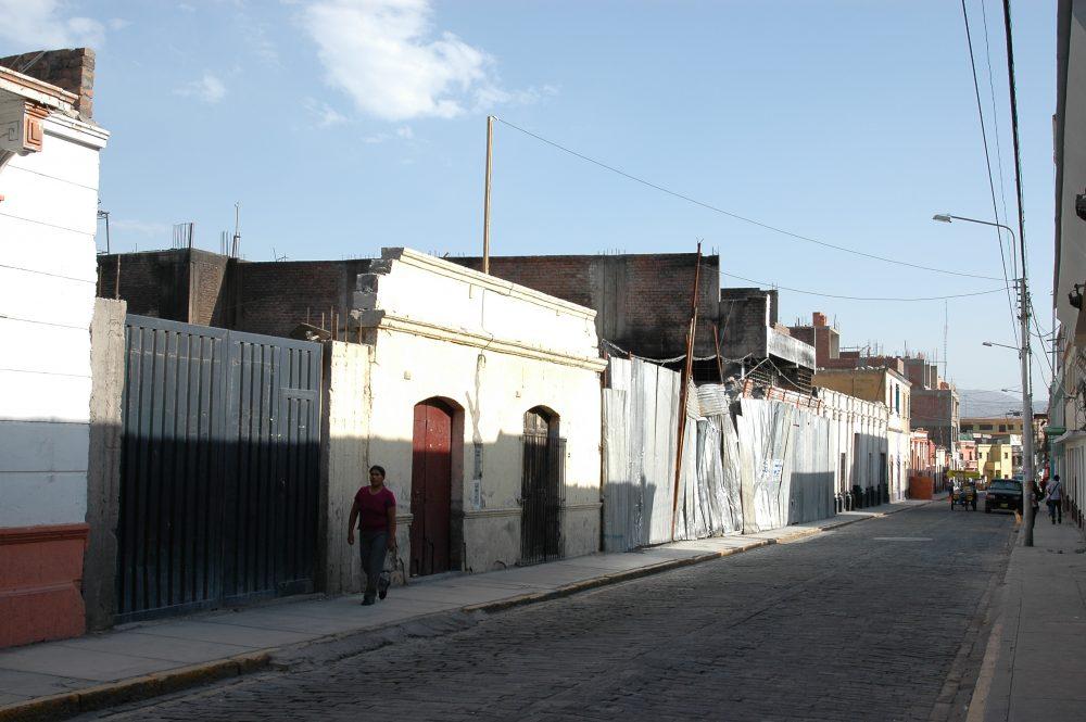fachadas casonas destruidas