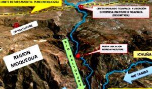 Poder Judicial de Puno habría errado al detener proyecto de represa Paltuture al no estar en su territorio