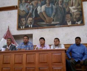 Sindicato de Trabajadores de Autodema se oponen a la subasta de lotes en Cayma