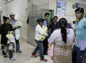 VIDEO. Fiscalía confirmó cambio de bebés en Honorio Delgado con prueba de ADN