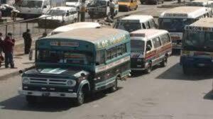 Intervienen 5 unidades de transporte urbano por superar los 20 años