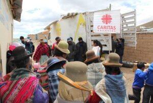 50 toneladas de ayuda entregó la Beneficencia en campañas humanitarias por el friaje