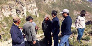 Pobladores de Tolapalca y Paltuture se sienten «moqueguanos al 100%» y piden consulta