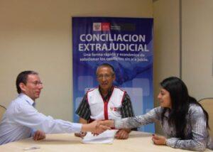 Gracias a conciliaciones se aligera la carga procesal en Arequipa