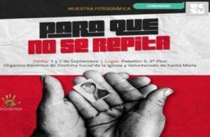 """""""Para que no se repita"""", muestra fotográfica de la época oscura del terrorismo en el Perú"""