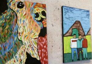 """Exposición pictórica colectiva """"Proyecto Ícaro"""", donde los niños son  los protagonistas"""