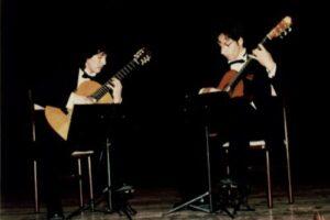 Recital de guitarra de estudiantes del conservatorio Luis Duncker Lavalle
