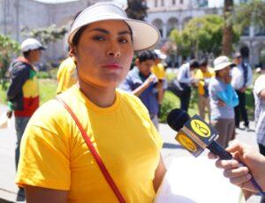 Milagros Ccama: Yo decidí revocar a Alfredo Zegarra, no pertenezco a ningún movimiento
