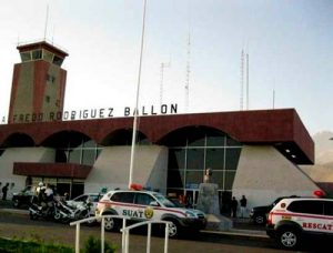ACT. Por falsa amenaza de bomba cerraron por una hora aeropuerto Rodríguez Ballón