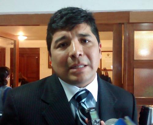 Regidor del Municipio Provincial de Arequipa, Christian Talavera.