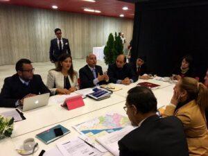Gobernadora Osorio participa de reunión Gore Ejecutivo con ministros de estado en Lima